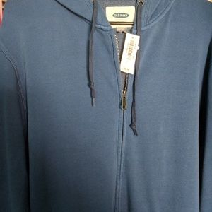 Old Navy Blue Hoody BRAND NEW! SIZE L